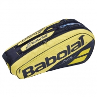 Чехол 4-6 ракеток Babolat Pure Aero 751182 Yellow/Black