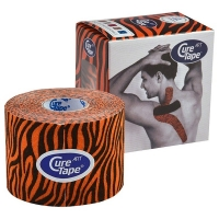 Тейп CureTape Art Tiger 50x5000mm 163159 Orange/Black