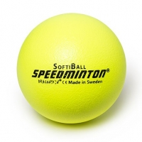 SoftiBall 25cm 610030 Speedminton Yellow