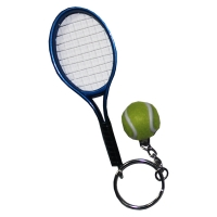 Брелок Taan Keychain Mini Racket KEY1320PP Blue