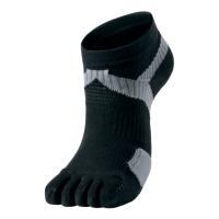 Носки спортивные Phiten Socks 5 Toe AL93 Black/Grey