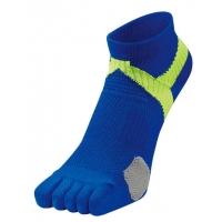 Носки спортивные Phiten Socks 5 Toe AL9266 Blue/Yellow