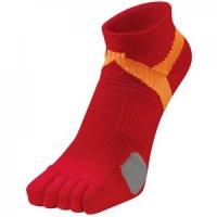 Носки спортивные Phiten Socks 5 Toe AL9265 Red/Orange