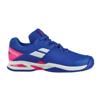 Кроссовки Babolat Junior Propulse All Court 32S18478 Blue/Pink