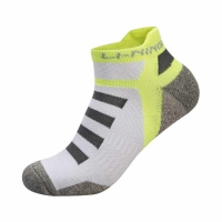 Носки спортивные Li-Ning Socks AWSM207-3 Man White/Light Green