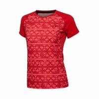 Футболка Li-Ning T-shirt W AAYL014-1 Red