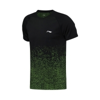 Футболка Li-Ning T-shirt M AAYN181-2 Black/Green