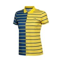 Поло Li-Ning Polo Shirt W APLL158-4 Blue/Yellow
