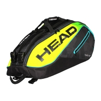 Чехол 7-9 ракеток Head Extreme Supercombi 283667 Black/Yellow
