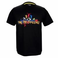 Футболка Kumpoo T-shirt M KW-9011 Black