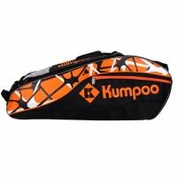 Чехол 4-6 ракеток Kumpoo KB-862 Black/Orange