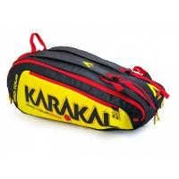 Чехол 7-9 ракеток Karakal Pro Tour Comp Black/Yellow KZ97902