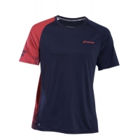 Футболка Babolat T-shirt M Perf Crew Neck 2MS19011 Black/Red