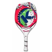 Ракетка для пляжного тенниса Turquoise Pro K Challenge White