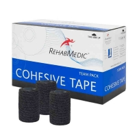 Тейп REHABMEDIC Cohesive Tape 75x4600mm x20 RMV0213BK Black