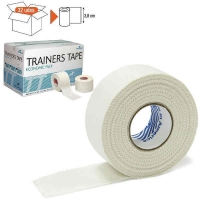Тейп REHABMEDIC Trainers Tape 38x10000mm x32 TT02 White