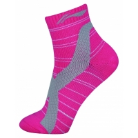 Носки спортивные Li-Ning Socks AWSN308-2 Lady Magenta