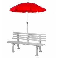 Зонт для скамейки без крепления 150cm 408009 Universal Red
