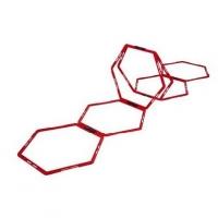 Тренировочные соты Hexagon Agility Grid x6 P2I200710 PURE2IMPROVE
