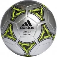 Мяч для футбола Adidas Conext 19 Capitano DN8641 Gray/Yellow