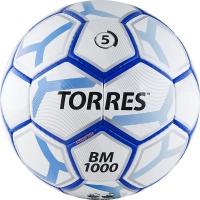 Мяч для футбола TORRES BM 1000 F30625 White/Blue