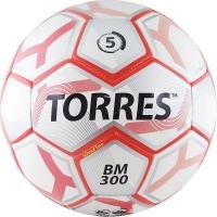 Мяч для футбола TORRES BM 300 F3074 White/Red