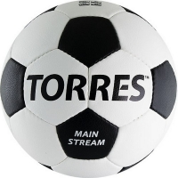 Мяч для футбола TORRES Main Stream F3018 White/Black