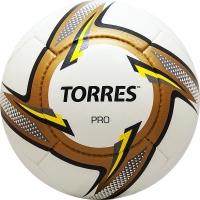 Мяч для футбола TORRES Pro F31815 White/Gold