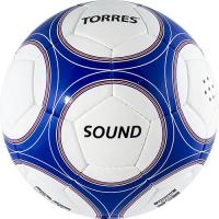 Мяч для футбола TORRES Sound F30255 White/Blue