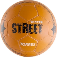 Мяч для футбола TORRES Winter Street F30285 Orange/Black