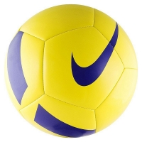 Мяч для футбола Nike Pitch Team SC3166-701 Yellow/Blue
