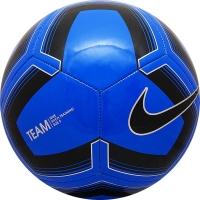 Мяч для футбола Nike Pitch Training SC3893-410 Black/Blue