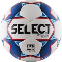 Мяч для футбола SELECT Brillant Super FIFA 810108-002 White/Blue