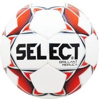 Мяч для футбола SELECT Brillant Replica 811608-003 White/Red