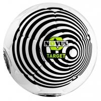 Мяч для футбола Novus TARGET White/Black