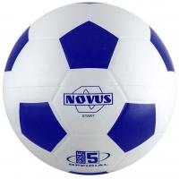 Мяч для футбола Novus START White/Blue