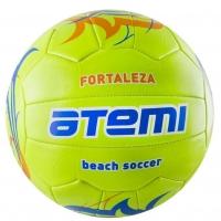 Мяч для футбола ATEMI FORTALEZA 00-00000405 Green/Blue