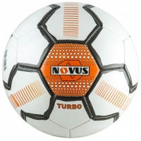 Мяч для футбола Novus Turbo White/Orange