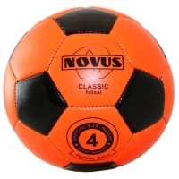 Мяч для минифутбола Novus CLASSIC FUTSAL Orange/Black 00-00004638
