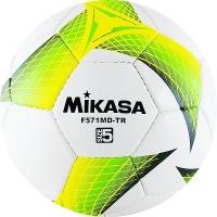 Мяч для футбола Mikasa F571MD-TR-G White/Green