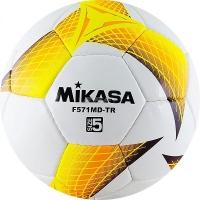 Мяч для футбола Mikasa F571MD-TR-O White/Orange