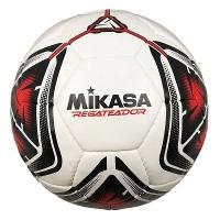 Мяч для футбола Mikasa REGATEADOR-R White/Red