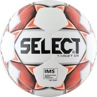 Мяч для футбола SELECT Target DB 815217-106 White/Red