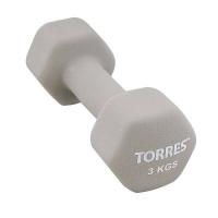 Гантель Неопрен 3kg PL55013 TORRES