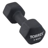 Гантель Неопрен 5kg PL55015 TORRES