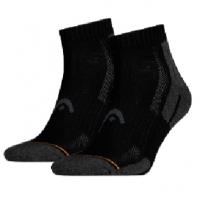 Носки спортивные Head Socks Performance Quarter x2 180012 Black/Gray