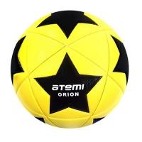 Мяч для футбола ATEMI ORION PVC 00-00005680 Yellow/Black