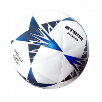 Мяч для футбола ATEMI DIAMOND PVC 00-00005681 White/Blue
