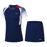 Комплект Li-Ning Kit W T-shirt+Skirt Blue/White AATP018-3