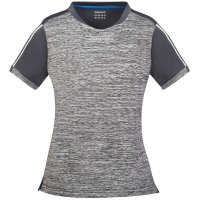 Футболка Donic T-shirt W Melange-Pro Lady Gray